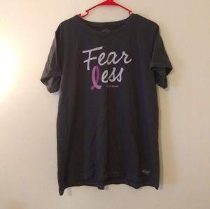 Life is Good Beast Cancer Shirt Fear Less